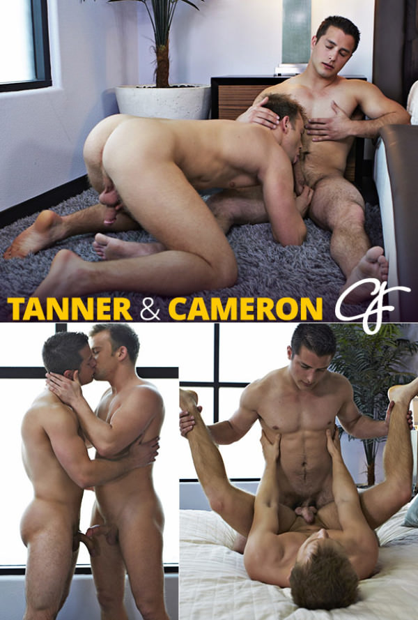 CorbinFisher Tanner cums in Cameron Bareback