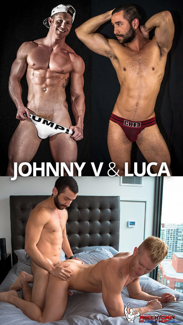 AmericanMuscleHunks Johnny V Luca
