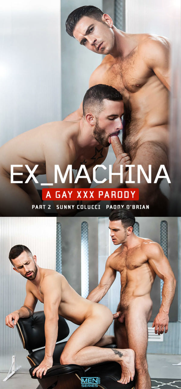 SuperGayHero Ex-Machina: A Gay XXX Parody Part 2 Paddy O'Brian Fucks Sunny Colucci Men.com