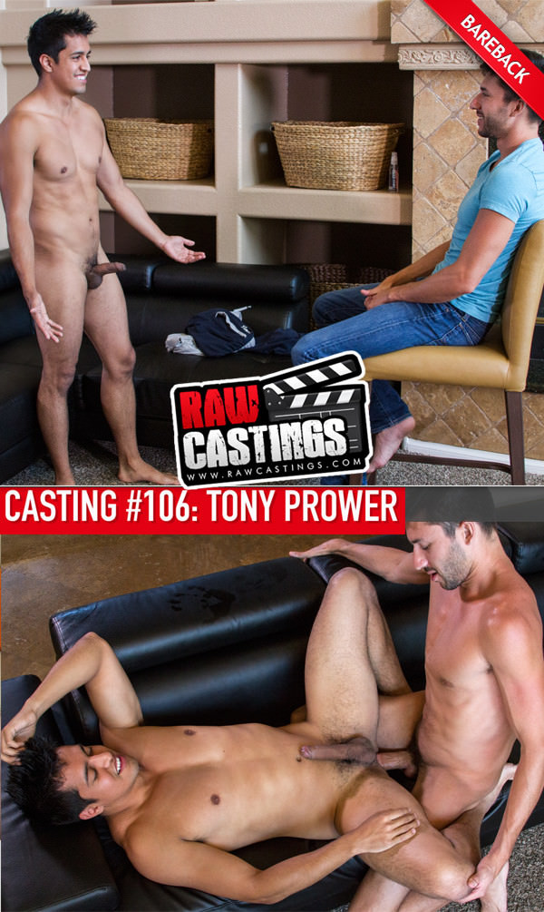 RawCastings Casting #106 Tony Prower with Scott Demarco Bareback
