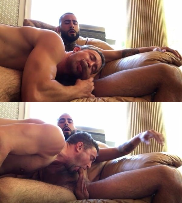 LeakedAndLoaded Rikk York lays back and lets Colt do his fucking job