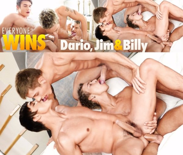 BelAmiOnline Everyone Wins Dario, Jimmy & Billy Part 2 Dario Dolce, Billy Cotton Jim Kerouac Bareback