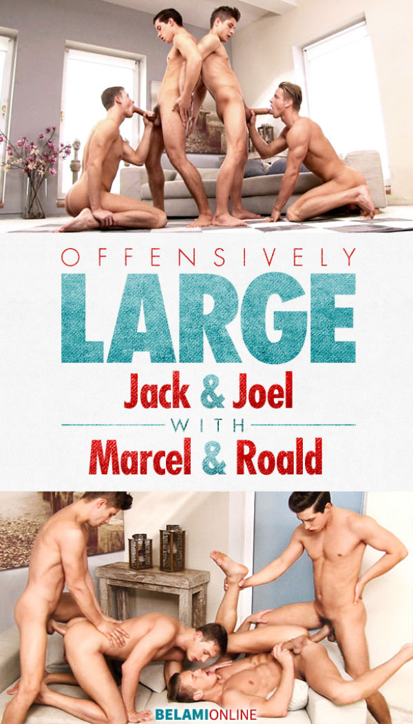 BelAmiOnline Offensively Large Parts 1 Joel Birkin & Jack Harrer Fuck Marcel Gassion and Roald Ekberg