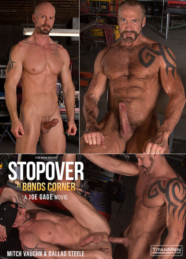 TitanMen Stopover in Bonds Corner Dallas Steele and Mitch Vaughn flip fuck