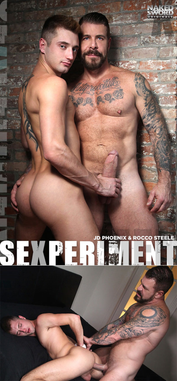 NakedSword Sexperiment Episode 4 Take My Pretty Hole Dady JD Phoenix Rocco Steele