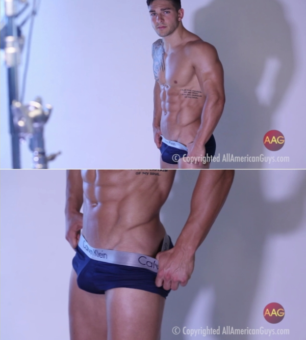 AllAmericanGuys Dalton Sexy And Fit In Studio