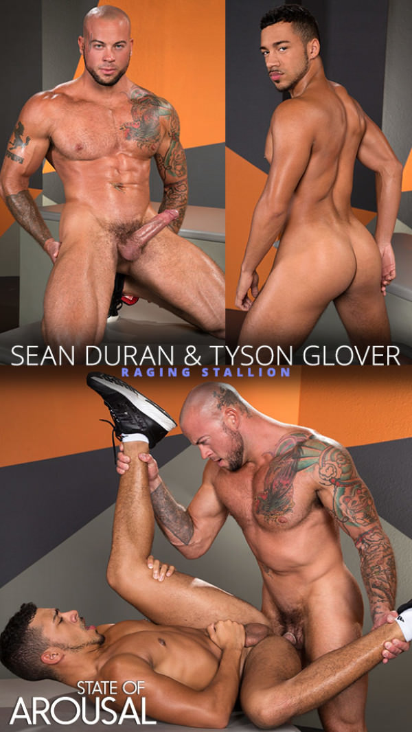 RagingStallion State of Arousal Sean Duran pounds Tyson Glover