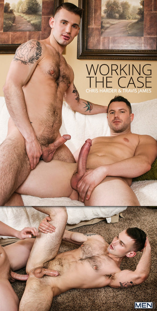 DrillMyHole Working the Case Travis James fucks Chris Harder Men.com