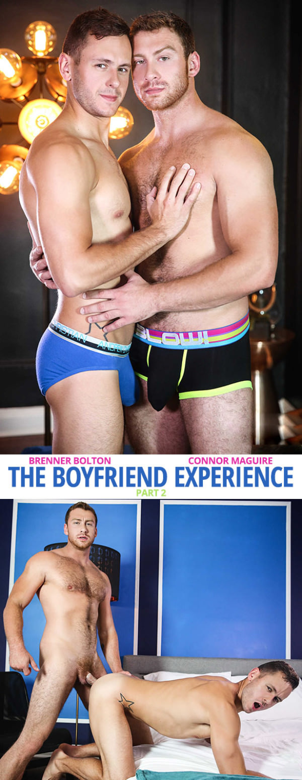 Str8toGay The Boyfriend Experience Part 2 Connor Maguire fucks Brenner Bolton - Men.com