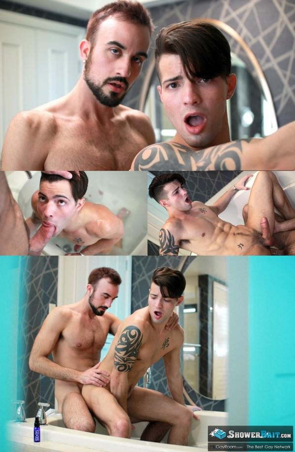 ShowerBait Wet Muscle Casey Everett Mason Lear GayRoom
