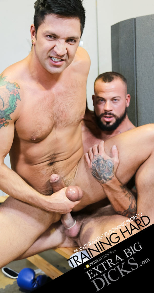 ExtraBigDicks Training Hard: Part 2 Sean Duran Fucks Dominic Pacifico