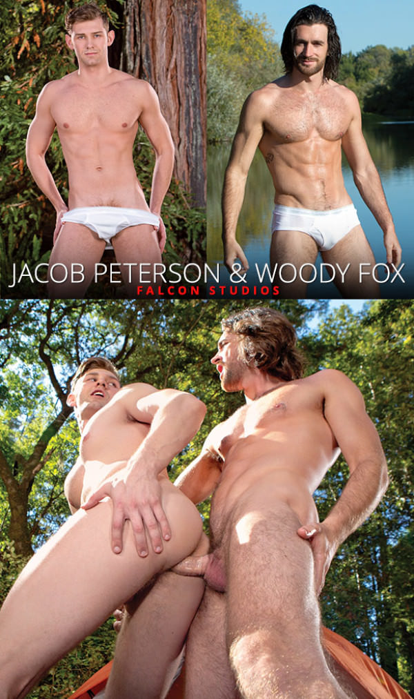 FalconStudios Pitching Tents - Woody Fox fucks Jacob Peterson