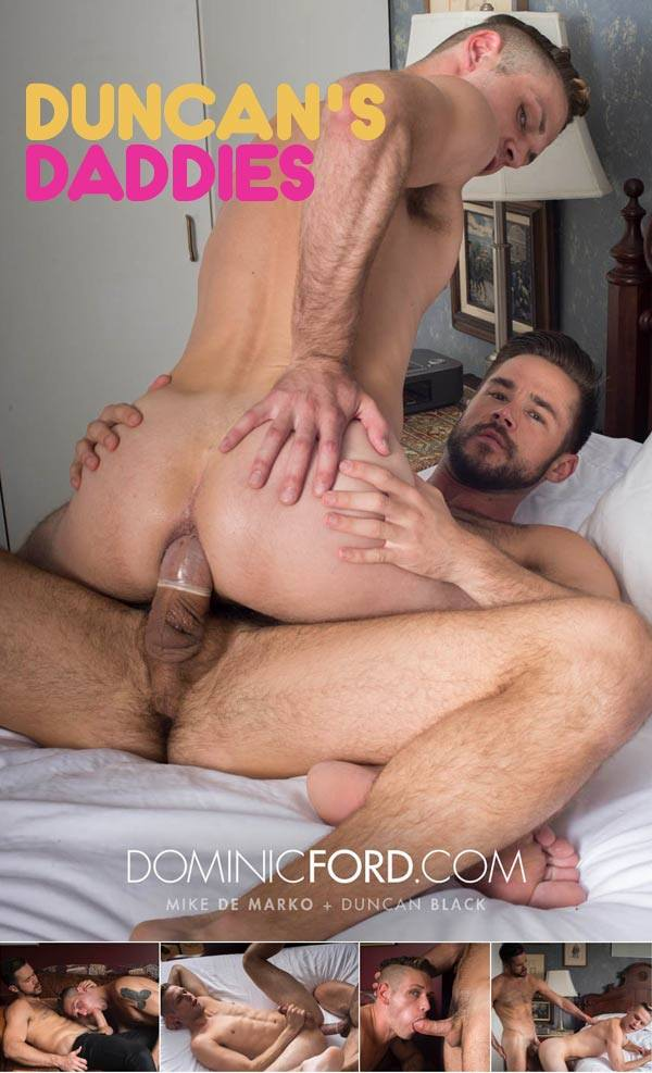 Dominic Ford Duncan's Daddies Scene 2 Mike De Marko Fucks Duncan Black