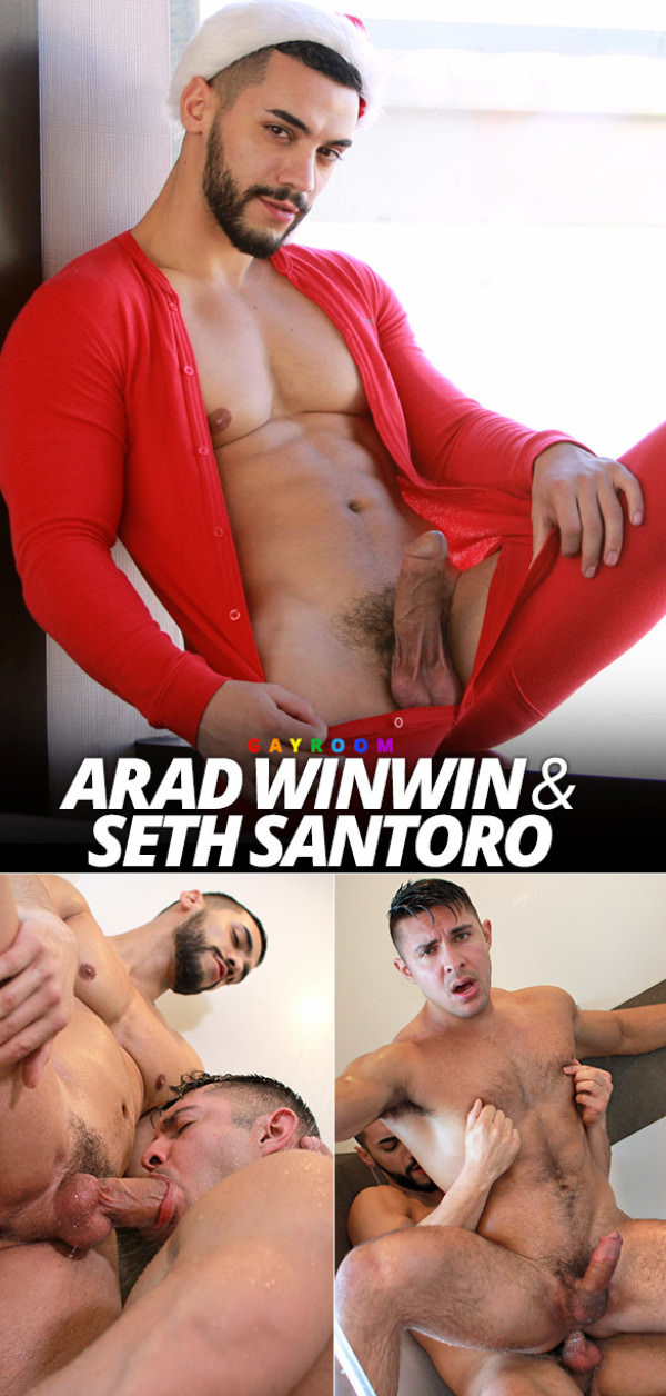 ShowerBait Deck The Balls Arad Winwin fucks Seth Santoro GayRoom
