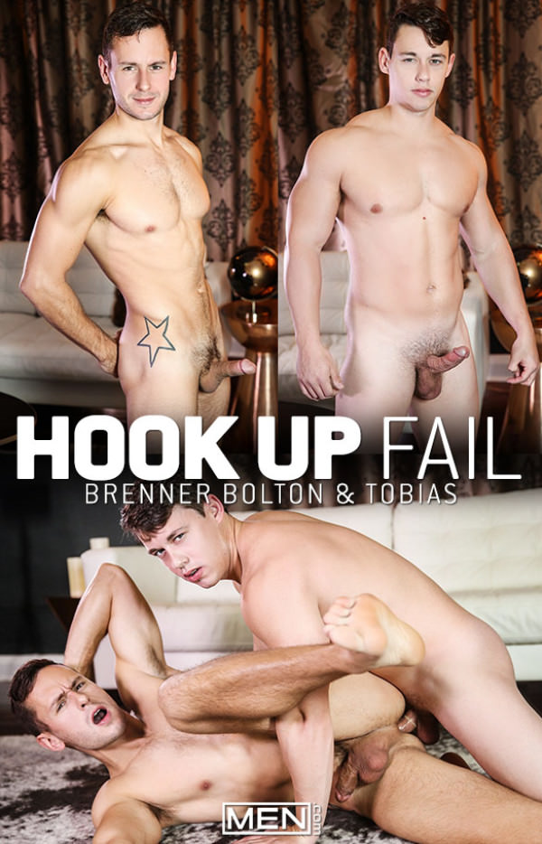 DrillMyHole Hook Up Fail Tobias fucks Brenner Bolton Men.com