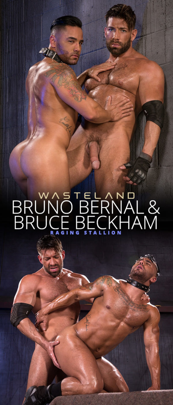 RagingStallion Wasteland Bruce Beckham slams Bruno Bernal