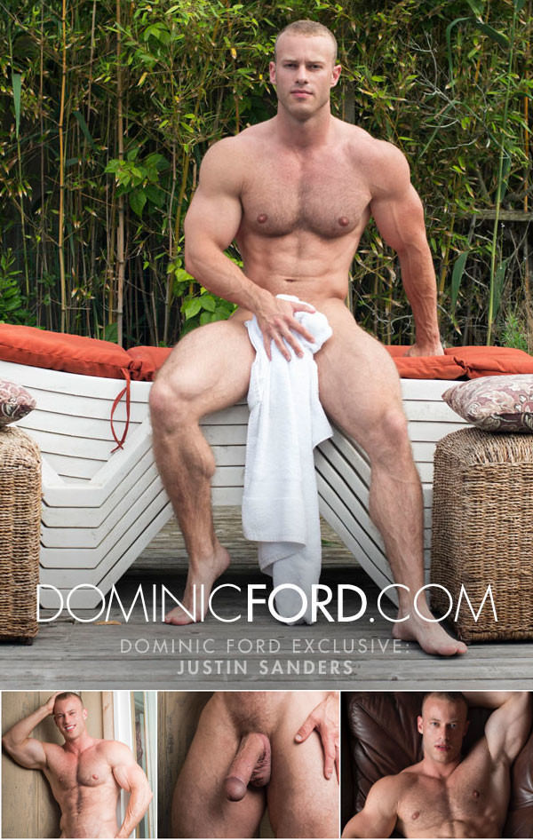 DominicFord Justin Sanders Gets Massaged