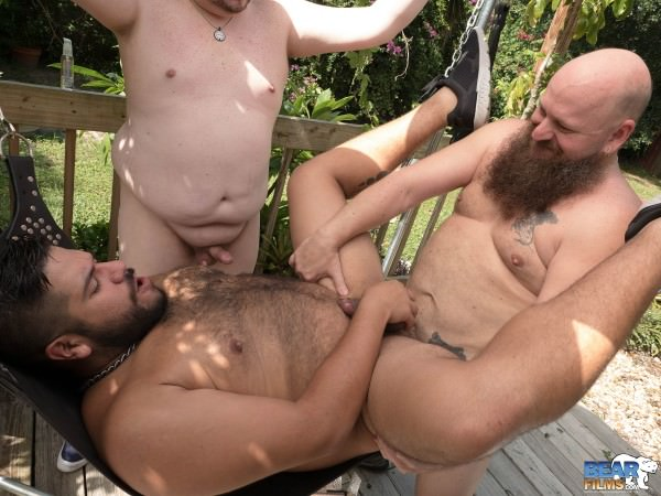 BearFilms Doug E Behr Lanz Adams Bareback
