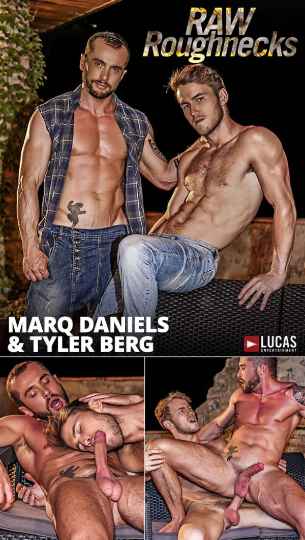 LucasEntertainment Raw Roughnecks Marq Daniels pounds Tyler Berg