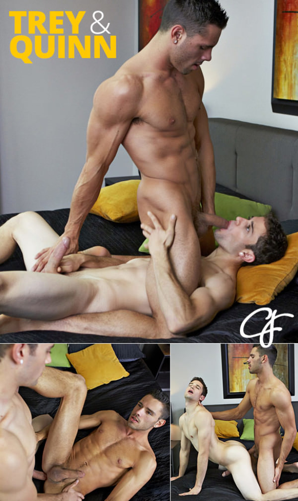 CorbinFisher Quinn and Trey flip fuck bareback