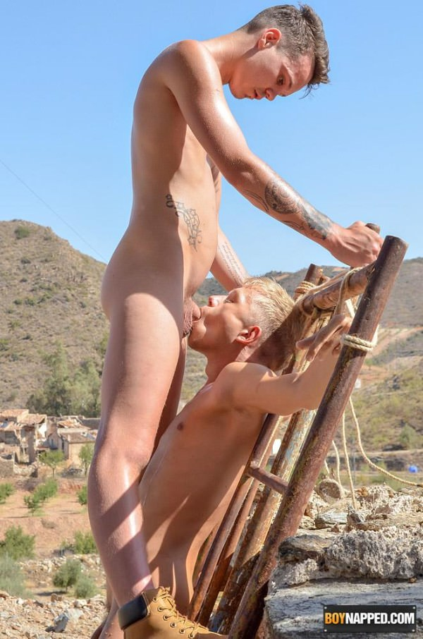 BoyNapped Hung Twink Has A Toy To Play With Chris Jansen Charley Cole