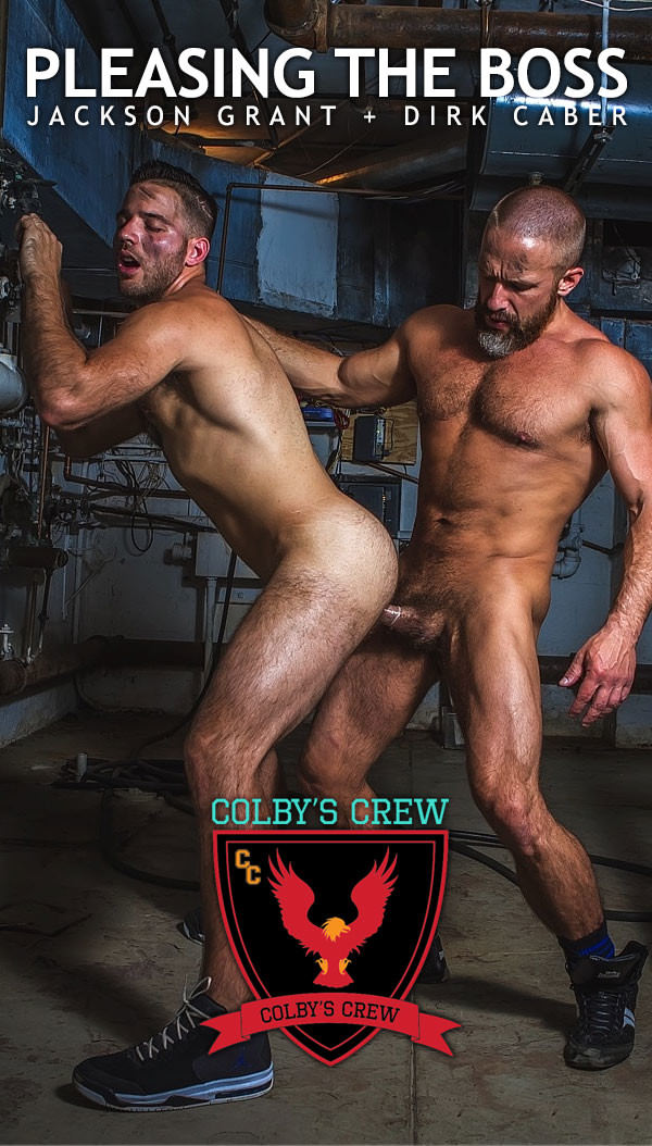 ColbysCrew Pleasing The Boss - Dirk Caber Fucks Jackson Grant