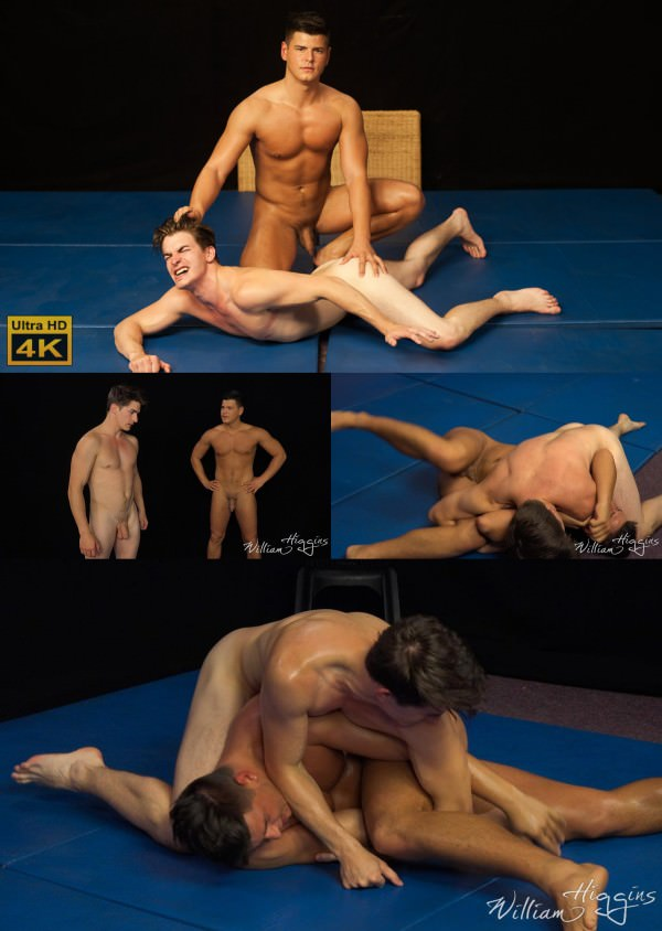 WilliamHiggins Honza vs Dusan WRESTLING Dusan Polanek Honza Onus
