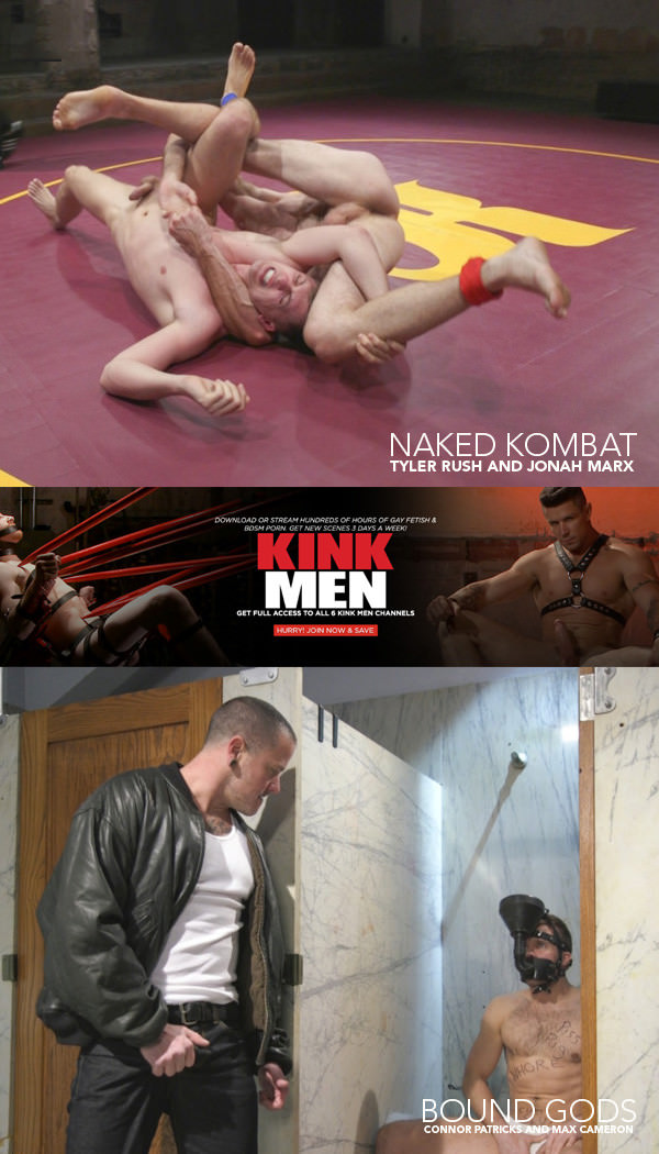 NakedKombat Tyler Rush takes on ripped hunk Jonah Marx