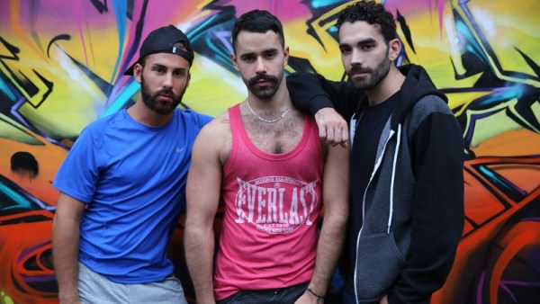 Ericvideos Starving for Jizz! Rafael, Malik XXL and Teddy Bareback