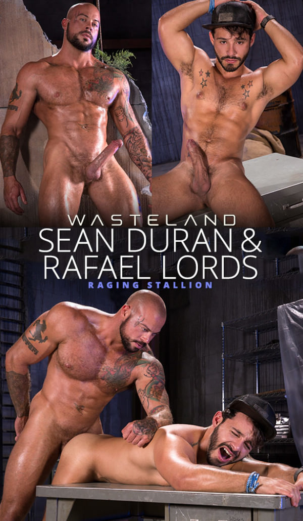 RagingStallion Wasteland Sean Duran pounds Rafael Lords