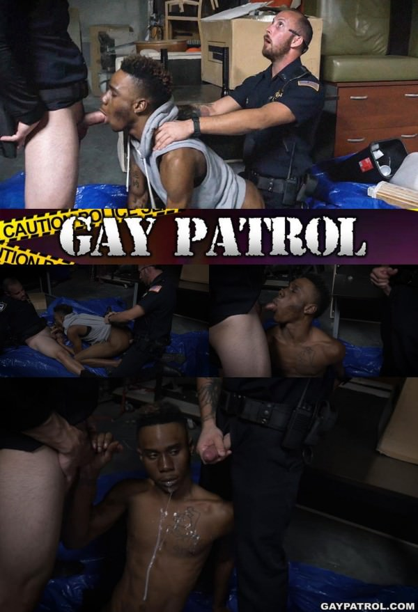 GayPatrol Breaking And Entering Leads To A Hard Arrest Bareback