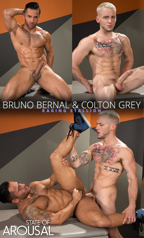 RagingStallion State of Arousal Colton Grey slams Bruno Bernal
