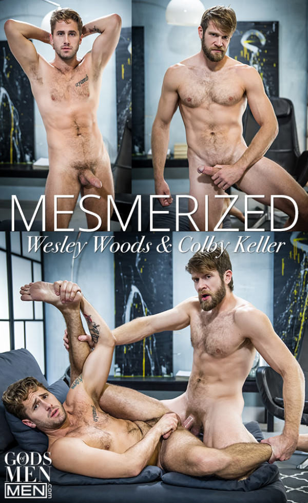 GodsofMen Mesmerized - Colby Keller pounds Wesley Woods Men.com