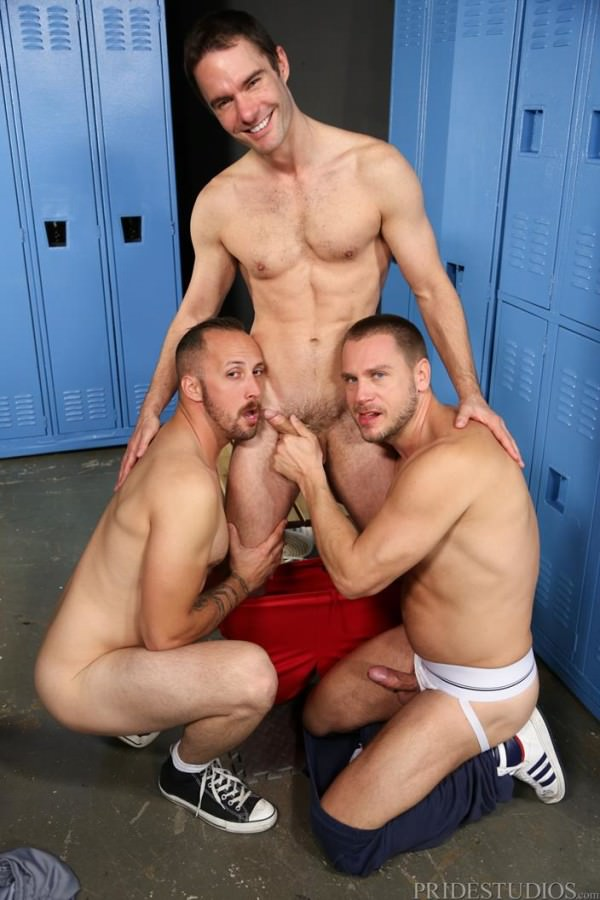 MenOver30 First Time 3-Way Cameron Kincade, Dustin Steele Hans Berlin