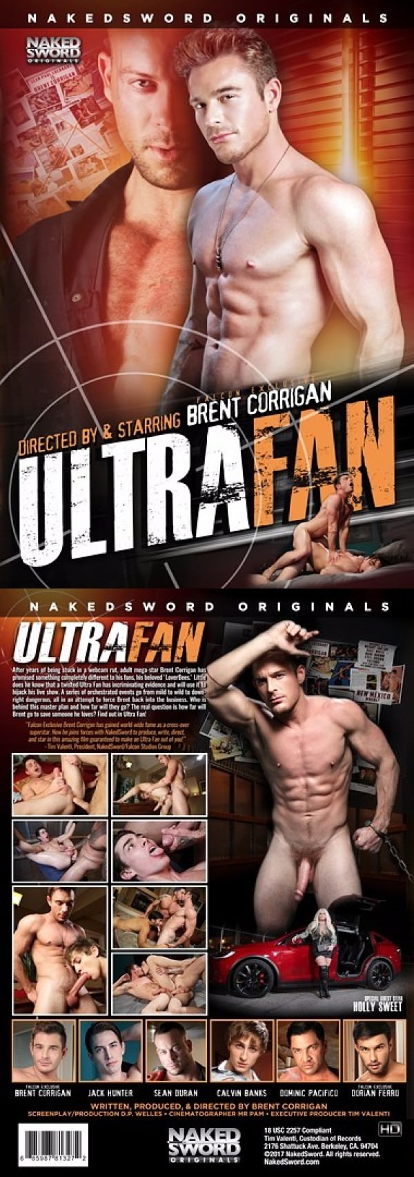 NakedSword Ultra Fan DVD