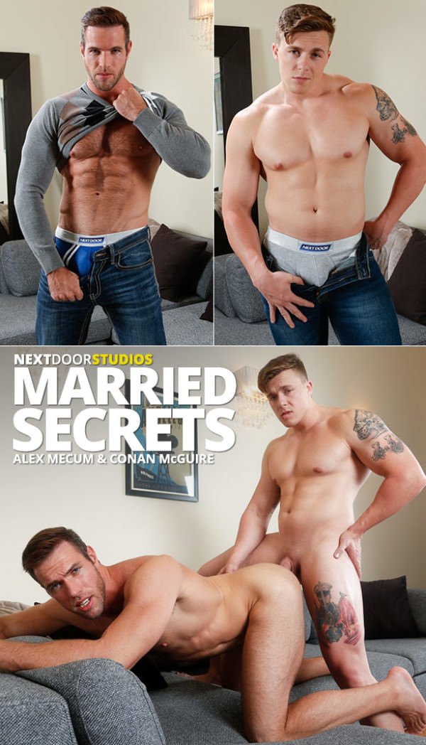 NextDoorBuddies Married Secrets - Conan McGuire fucks Alex Mecum