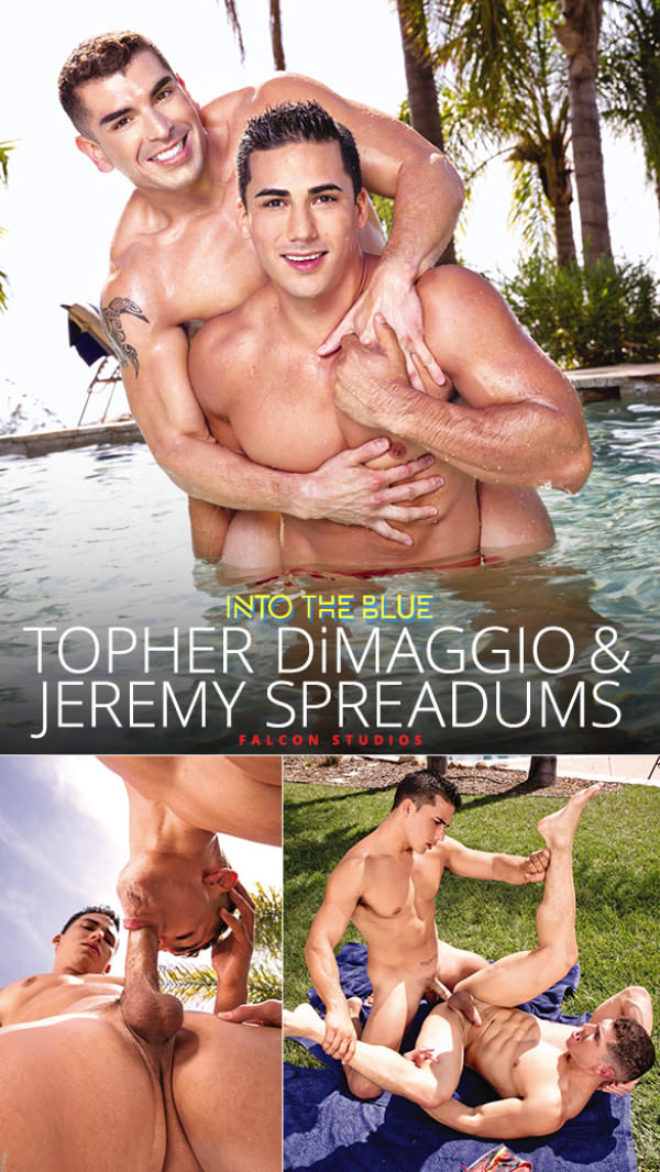 FalconStudios Into the Blue Topher DiMaggio fucks Jeremy Spreadums