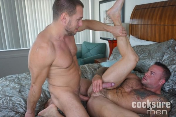 CockSureMen Hans Berlin and Sean Duran Bareback