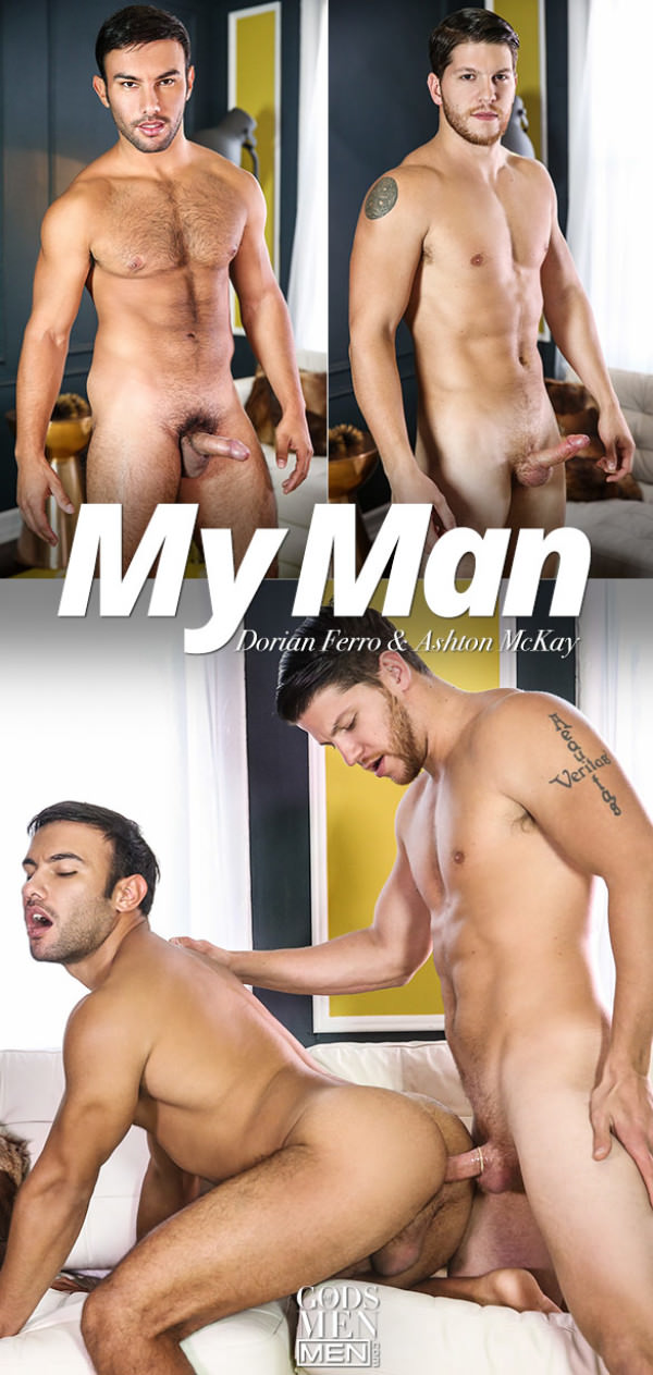 GodsofMen My Man Ashton McKay bangs Dorian Ferro Men.com