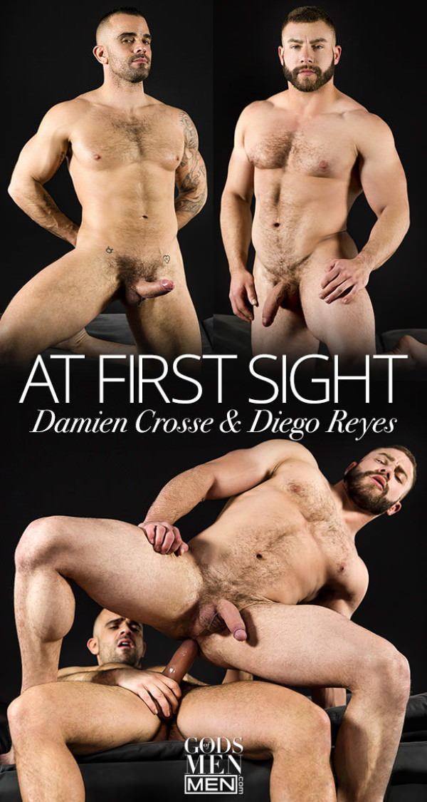 GodsofMen At First Sight Damien Crosse fucks Diego Reyes Men.com