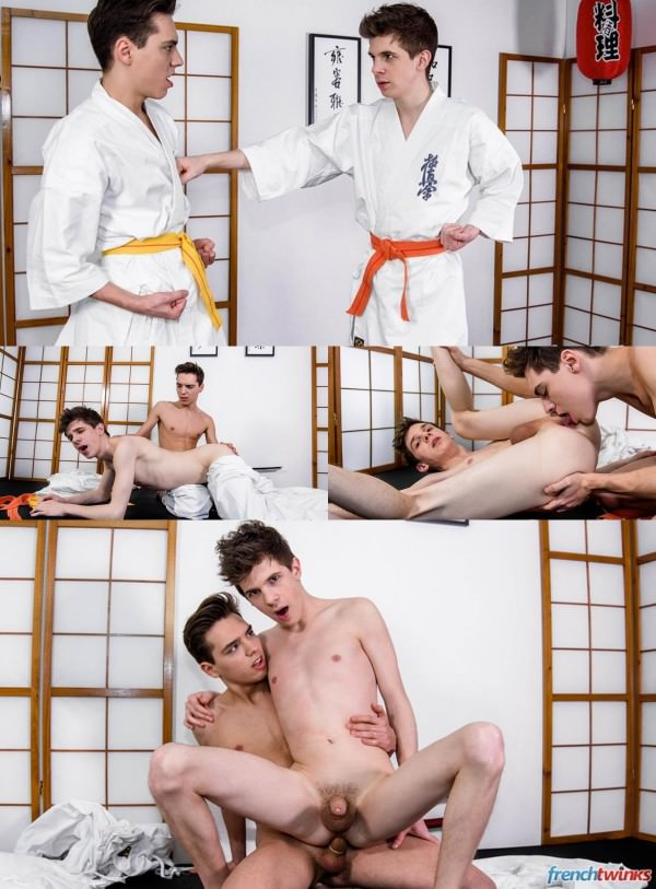 FrenchTwinks Karate Twinks Abel Lacourt and William Lefort