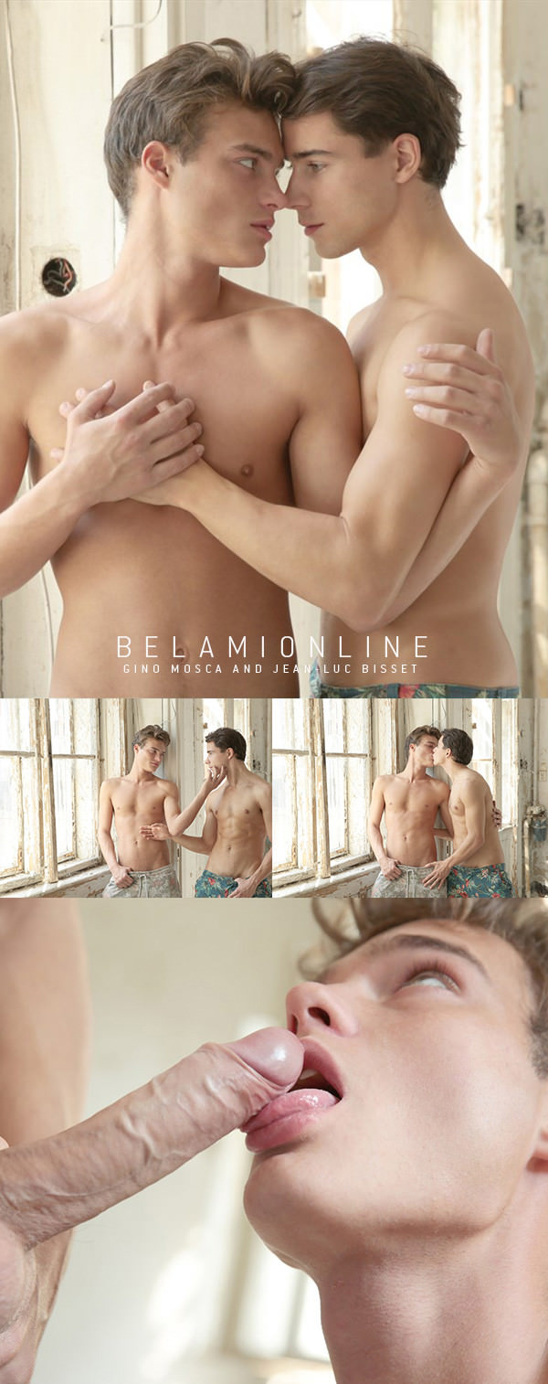 BelAmiOnline Photosession with Gino Mosca and Jean-Luc Bisset