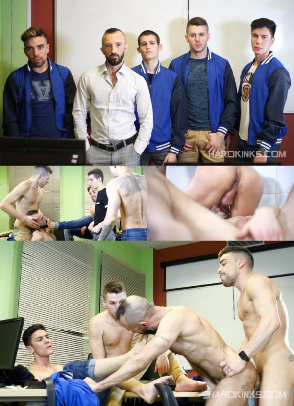 Hardkinks Bullfight Edition Vol5 - Alec Loob , Angel Cruz , Dmitry Osten , Dominique Kenique Josh Milk