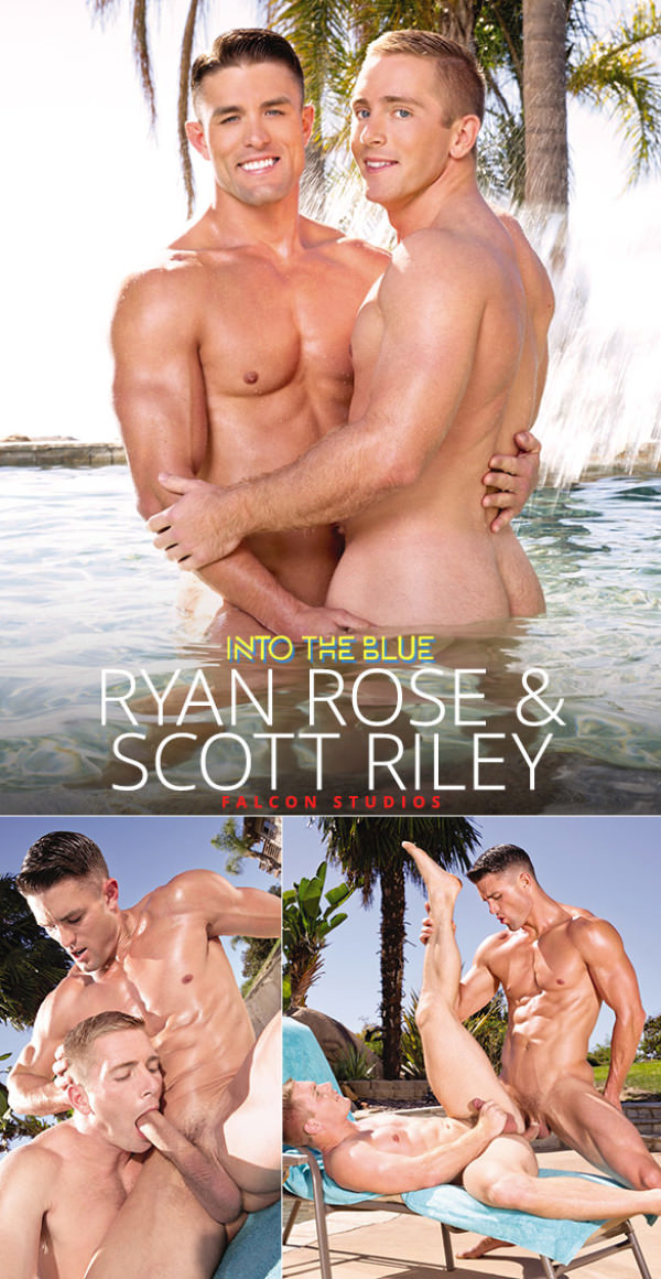 FalconStudios Into the Blue Ryan Rose pounds Scott Riley