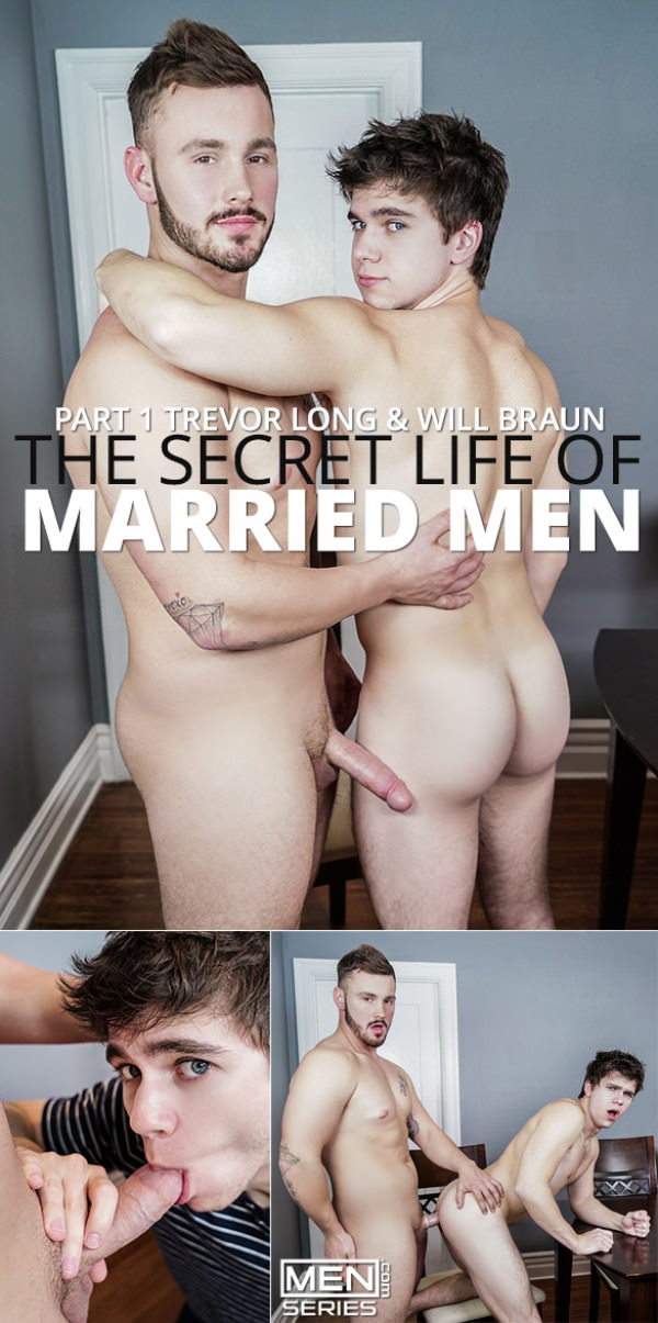 Str8toGay The Secret Life of Married Men Part 1 Trevor Long fucks Will Braun Men.com