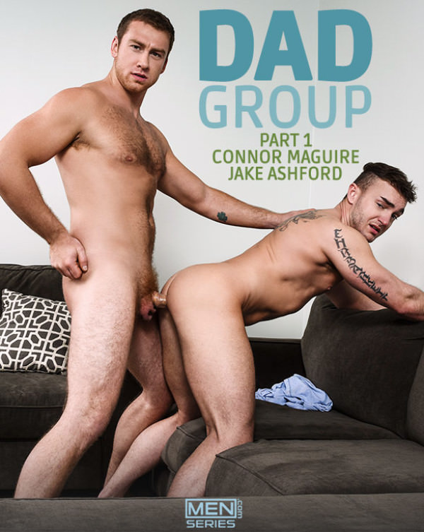 Str8toGay Dad Group, Part 1 Connor Maguire fucks Jake Ashford Men.com