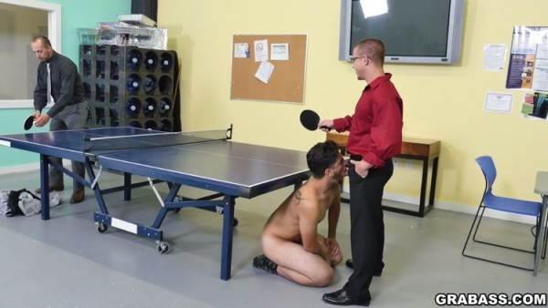 GrabAss CPR cock sucking and naked ping pong