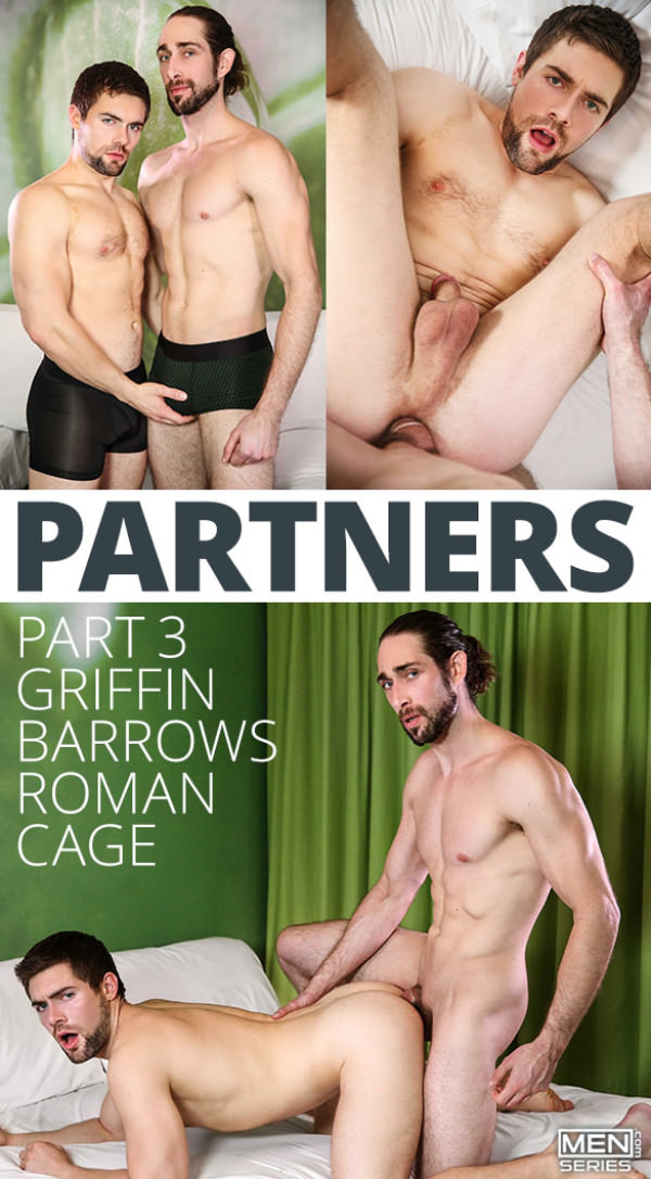 DrillMyHole Partners, Part 3 Roman Cage fucks Griffin Barrows Men.com