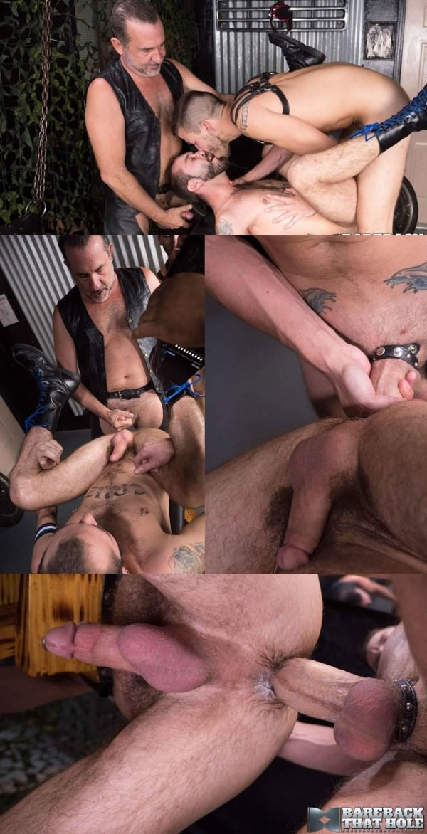 BarebackThatHole Ethan Palmer, Justin Case and Victor Cody Part 2 Bareback
