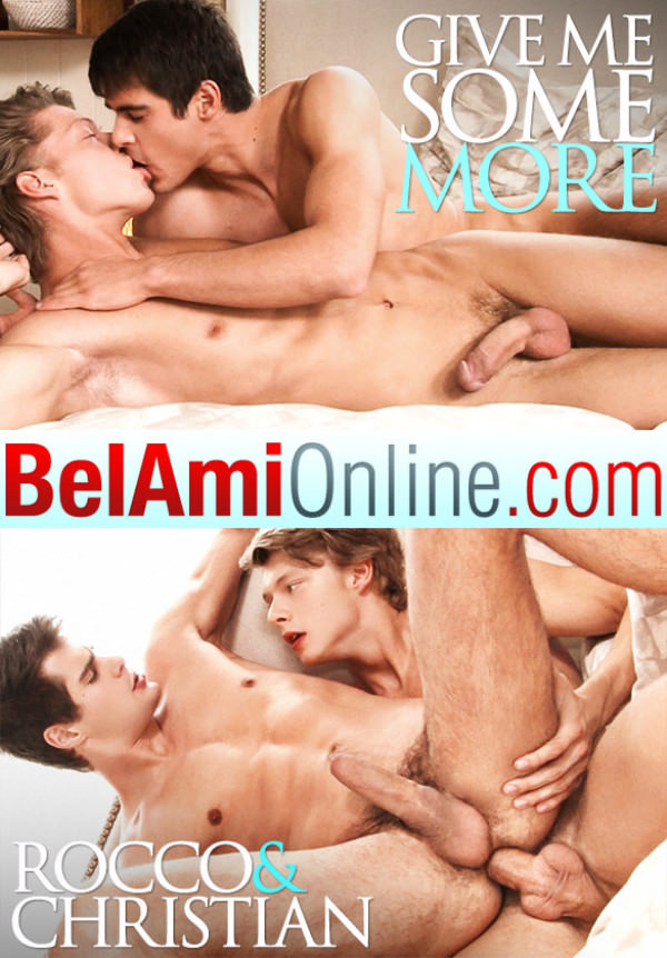 BelAmiOnline Rocco Alfieri and Christian Lundgren fuck raw Part 2